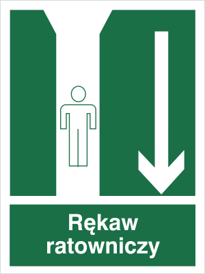 Znak Rękaw ratowniczy (121)