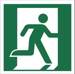 Obrazek dla kategorii Znak Wyjście ewakuacyjne (prawostronne) (E02)