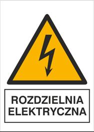 Obrazek dla kategorii Znak Rozdzielnia elektryczna (330-20)