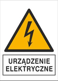 Obrazek dla kategorii Znak Urządzenie elektryczne (330-23)