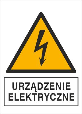 Znak Urządzenie elektryczne (330-23)