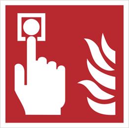 Obrazek dla kategorii Znak Alarm pożarowy (F05)