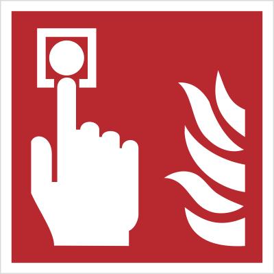 Znak Alarm pożarowy (F05)