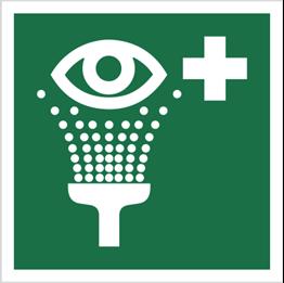 Obrazek dla kategorii Znak Prysznic do przemywania oczu (E11)