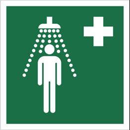 Obrazek dla kategorii Znak Prysznic bezpieczeństwa (E12)