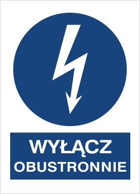 Znak Wyłącz obustronnie (430-04)