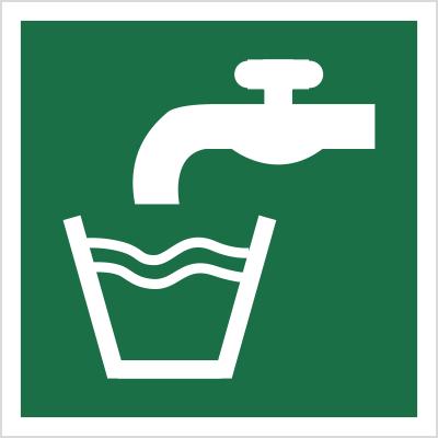Znak Woda zdatna do picia (E15)