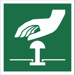 Obrazek dla kategorii Znak Przycisk awaryjnego zatrzymania (E20)