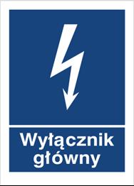 Obrazek dla kategorii Znak Wyłącznik główny (530-01)