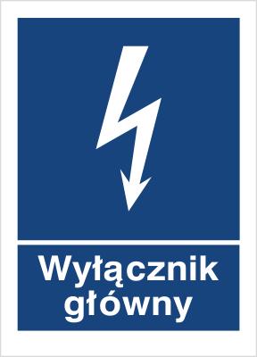 Znak Wyłącznik główny (530-01)