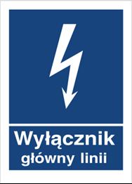 Obrazek dla kategorii Znak Wyłącznik główny linii (530-02)
