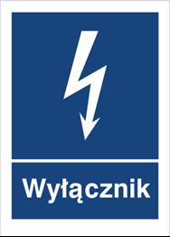 Obrazek dla kategorii Znak Wyłącznik (530-05)