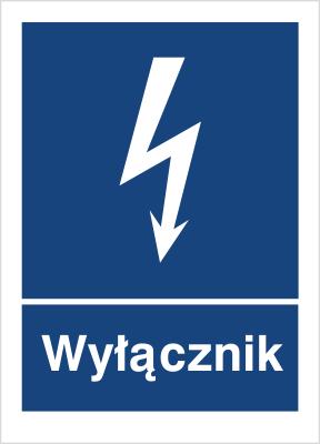 Znak Wyłącznik (530-05)