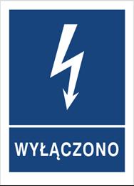 Obrazek dla kategorii Znak Wyłączono (530-08)