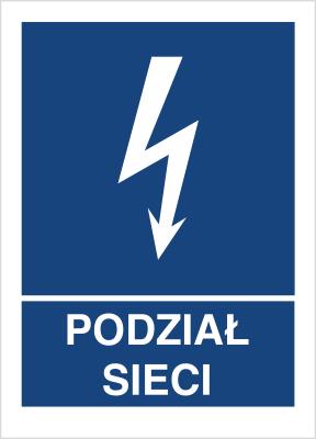 Znak Podział sieci (530-11)