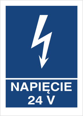 Znak Napięcie 24V (530-15)