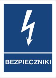 Obrazek dla kategorii Znak Bezpieczniki (530-16)