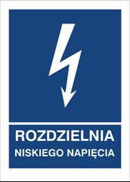 Obrazek dla kategorii Znak Rozdzielnia niskiego napięcia (530-17)