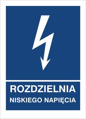 Znak Rozdzielnia niskiego napięcia (530-17)