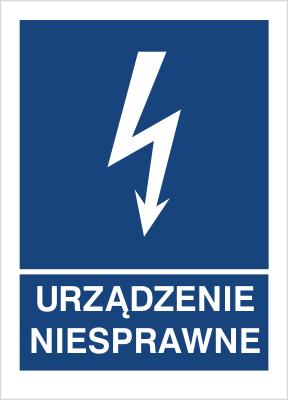 Znak Urządzenie niesprawne (530-18)