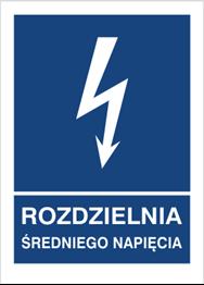 Obrazek dla kategorii Znak Rozdzielnia średniego napięcia (530-19)
