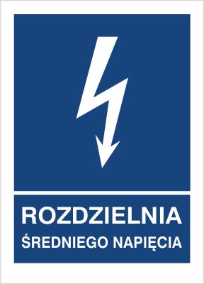 Znak Rozdzielnia średniego napięcia (530-19)