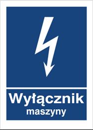 Obrazek dla kategorii Znak Wyłącznik maszyny (530-20)