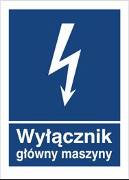 Obrazek dla kategorii Znak Wyłącznik główny maszyny (530-21)