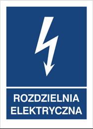Obrazek dla kategorii Znak Rozdzielnia elektryczna (530-26)