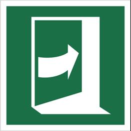 Obrazek dla kategorii Znak Pchać z prawej, aby otworzyć (E23)