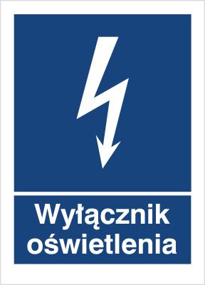 Znak Wyłącznik oświetlenia (530-27)