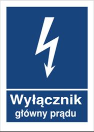 Obrazek dla kategorii Znak Wyłącznik główny prądu (530-29)
