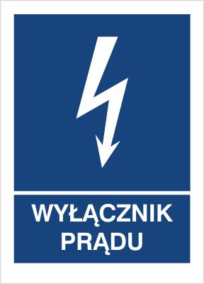 Znak Wyłącznik prądu (530-32)