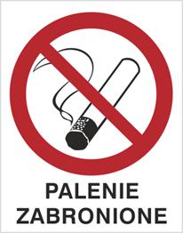 Obrazek dla kategorii Znak Palenie zabronione (209-02)