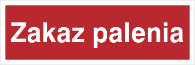 Znak Zakaz palenia (209-04)