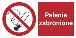 Obrazek dla kategorii Znak Palenie zabronione (209-05)