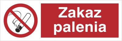 Znak zakaz palenia (209-06)