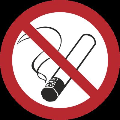 Zakaz palenia (209-08) Okrągłe