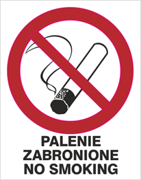 Obrazek dla kategorii Palenie zabronione No smoking (209-12)