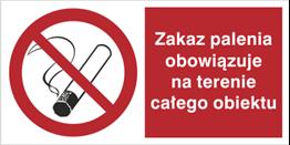 Obrazek dla kategorii Zakaz palenia obowiązuje na terenie całego obiektu (209-14)