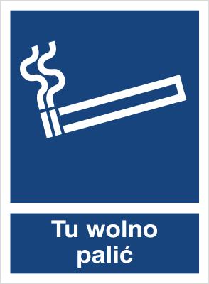 Tu wolno palić (831)