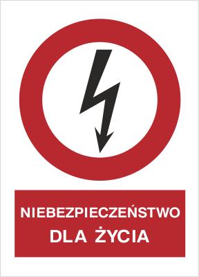 Znak Niebezpieczeństwo dla życia (630-01)