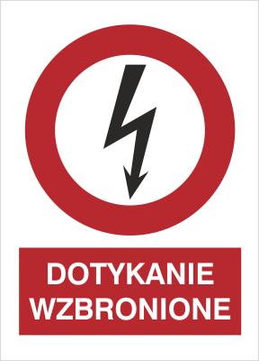 Znak Dotykanie wzbronione (630-10)