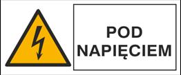 Obrazek dla kategorii Znak Pod napięciem (330-05)