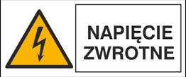 Obrazek dla kategorii Znak Napięcie zwrotne (330-10)