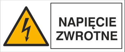 Znak Napięcie zwrotne (330-10)