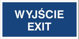 Obrazek dla kategorii Wyjście Exit (816-10)