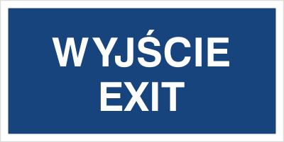 Wyjście Exit (816-10)