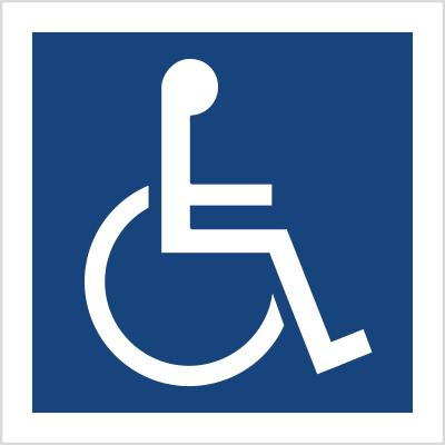 Miejsce dla inwalidów na wózkach (820)
