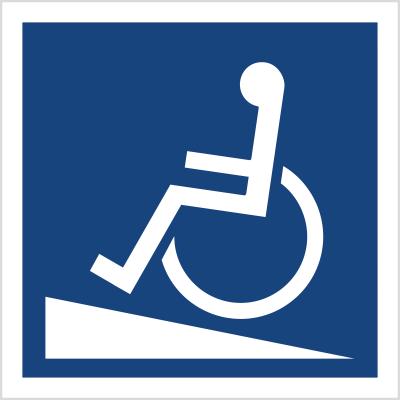 Podjazd dla wózków inwaldzkich (820-04)